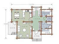 Дом из бруса-202