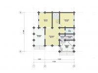 Дом из бревна-184