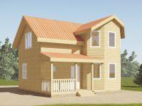 Дом из бруса-136