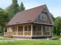 Дом из бруса-111