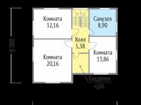 Дом из бруса-187