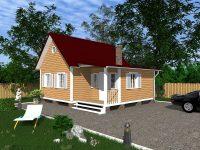 Дом из бруса-96