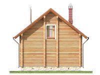 Дом из бревна-76