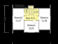Дом из бруса-110