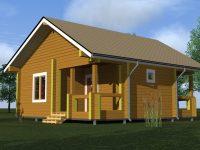 Дом из бруса-138