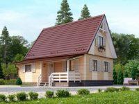 Дом из бруса-60