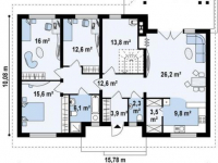 Дом из бруса-263