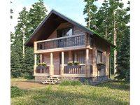 Дом из бревна-12