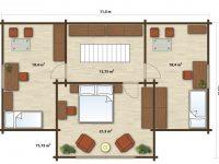 Дом из бруса-203