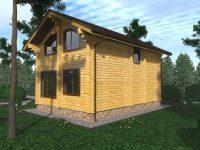 Дом из бруса-72