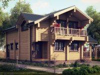 Дом из бруса-221
