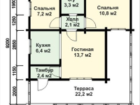 Дом из бруса-148
