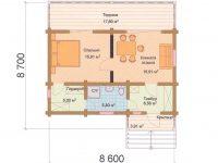 Дом из бруса-182