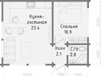 Дом из бруса-21