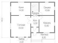 Дом из бруса-192
