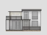 Дом из бруса-250