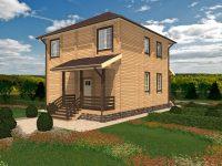 Дом из бруса-165