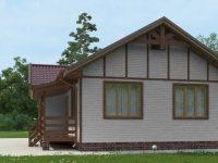 Дом из бруса-150