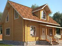 Дом из бревна-96