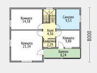 Дом из бруса-152