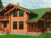 Дом из бруса-269
