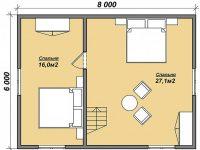 Дом из бруса-140