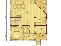 Дом из бруса-204