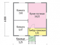 Дом из бруса-42