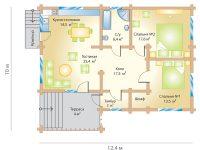 Дом из бруса-244