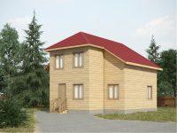 Дом из бруса-137