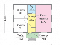 Дом из бруса-59