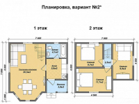 Дом из бруса-88