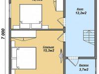 Дом из бруса-87