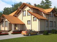 Дом из бруса-246
