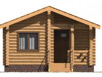 Дом из бревна-4