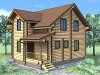 Дом из бревна-139