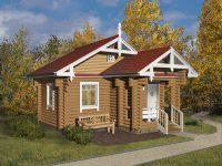 Дом из бревна-36