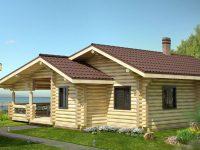 Дом из бревна-168