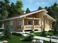 Дом из бревна-191