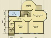 Дом из бруса-71