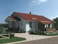 Дом из бруса-206