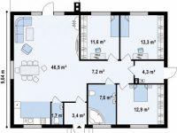 Дом из бруса-249