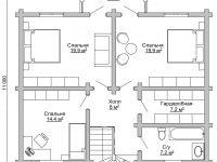 Дом из бревна-181