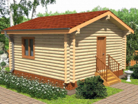Дом из бревна-1
