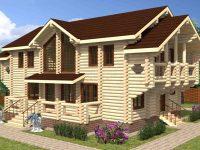 Дом из бревна-187