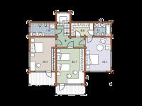 Дом из бруса-287