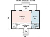 Дом из бруса-33