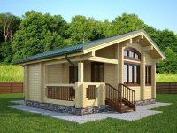 Дом из бруса-145