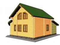 Дом из бруса-161