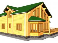 Дом из бруса-288